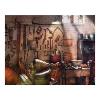 Steampunk - Machinist - The inventors workshop Flyers