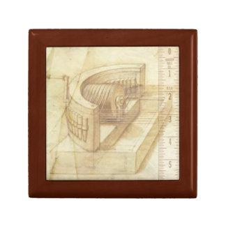 Steampunk  Mathematical Drawing Jewelry Box