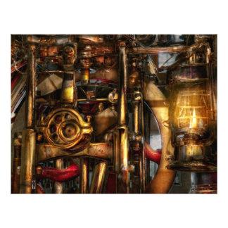 Steampunk - Mechanica Flyer Design