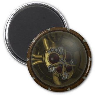 Steampunk Mechanical Heart Magnet