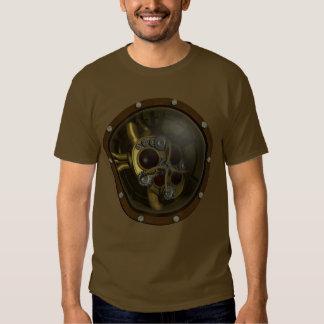 Steampunk Mechanical Heart Tee Shirts