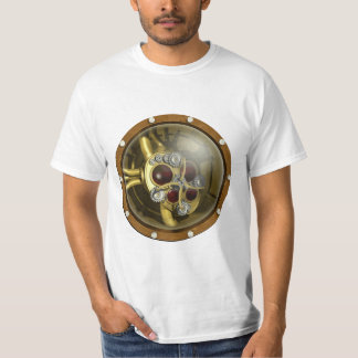 Steampunk Mechanical Heart Tshirts