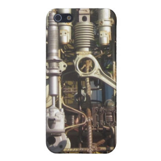 Steampunk mechanical machinery machines case for the iPhone 5
