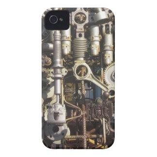 Steampunk mechanical machinery machines iPhone 4 case