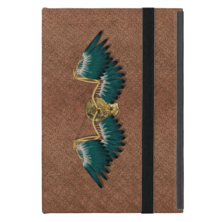 Steampunk Mechanical Wings Brown Cover For iPad Mini