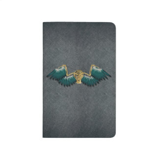Steampunk Mechanical Wings Grey Journal