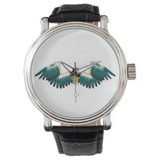Steampunk Mechanical Wings Watch