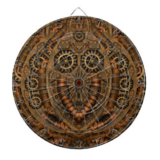 Steampunk Metal Cage Dartboard