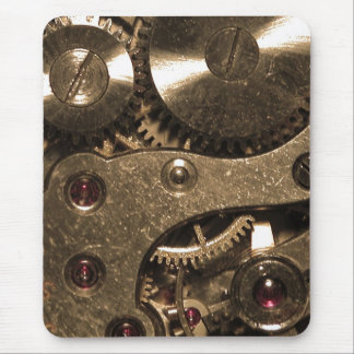 Steampunk Metal Gears Mouse Pad