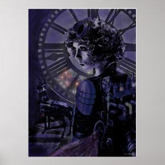 steampunk midnight poster