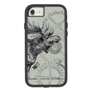 Steampunk Moose Wildlife Case-Mate Tough Extreme iPhone 7 Case