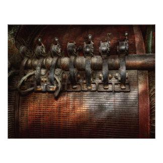 Steampunk - Motorized Custom Flyer