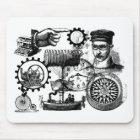 steampunk mouse mat