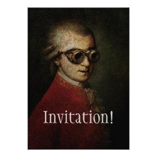 Steampunk Mozart Announcements