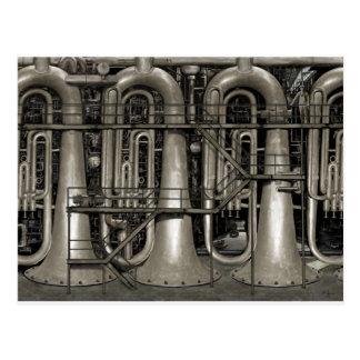 Steampunk Music Factory Postcard