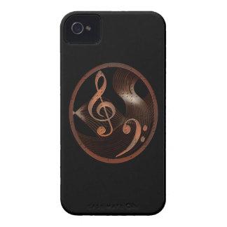 Steampunk Music Metal Design iPhone 4 Case