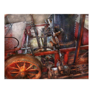 Steampunk - My transportation device 21.5 Cm X 28 Cm Flyer