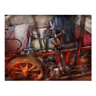 Steampunk - My transportation device Post Card