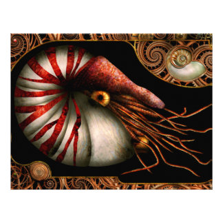 Steampunk - Nautilus - Coming out of your shell Full Color Flyer