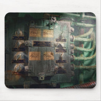 Steampunk - Naval - Lighting control panel Mouse Pads