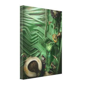 Steampunk - Naval - Plumbing - The head Canvas Print