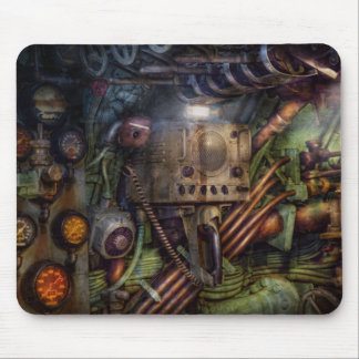 Steampunk - Naval - The comm station Mousepads