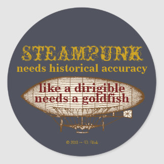 Steampunk Needs Sticker