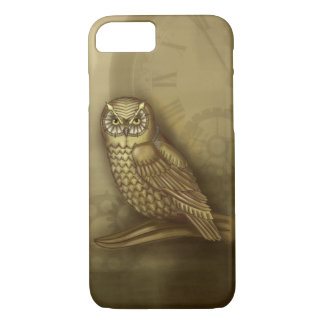 Steampunk Owl iPhone 7 case