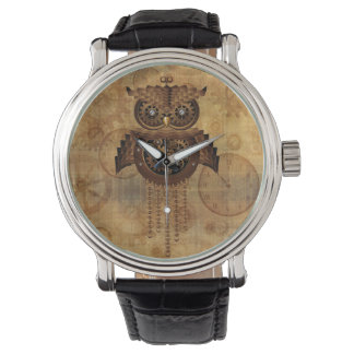 Steampunk Owl Vintage Style Watches