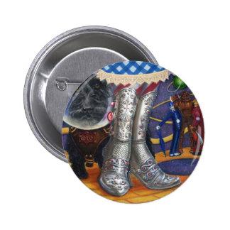 Steampunk Oz 6 Cm Round Badge
