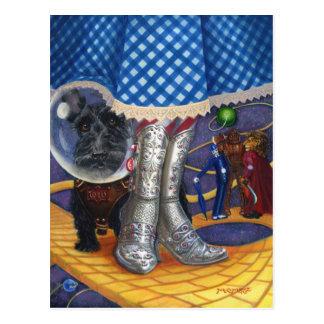 Steampunk Oz Postcard