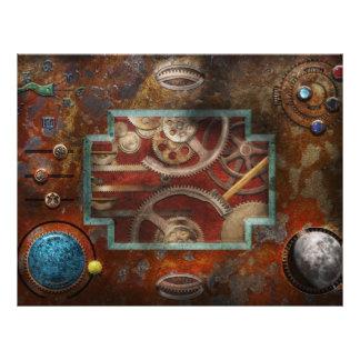 Steampunk - Pandora's box 21.5 Cm X 28 Cm Flyer