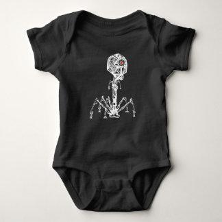 Steampunk Phage Baby Bodysuit