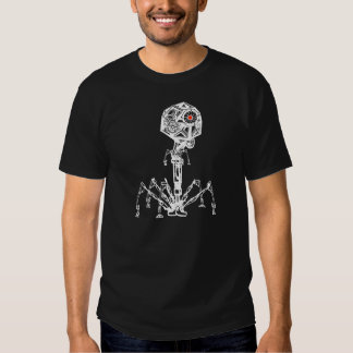 Steampunk Phage Tee Shirts