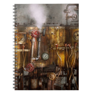 Steampunk - Plumbing - Distilation apparatus Notebook