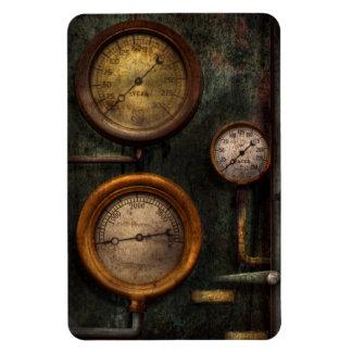 Steampunk - Plumbing - Gauging success Rectangular Photo Magnet
