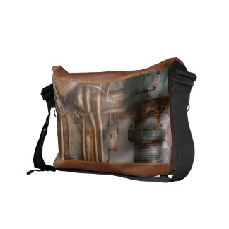 Steampunk - Plumbing - Industrial abstract Commuter Bag