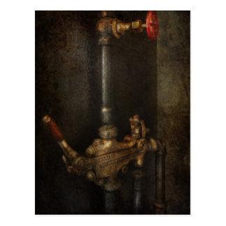 Steampunk - Plumbing - Number 4 - Universal Postcard