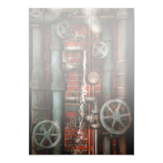Steampunk - Plumbing - Pipes and Valves Cards