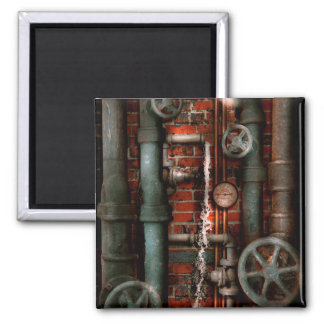 Steampunk - Plumbing - Pipes and Valves Magnets