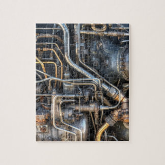 Steampunk Plumbing Pipes Jigsaw Puzzle