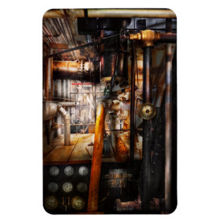 Steampunk - Plumbing - Pipes Rectangular Magnet
