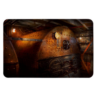 Steampunk - Plumbing - The home of a stoker Rectangular Magnet