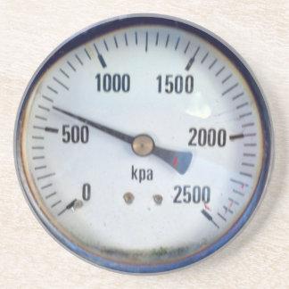 Steampunk Pressure Gauge Coaster