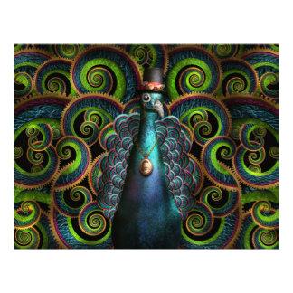 Steampunk - Pretty as a peacock Flyers