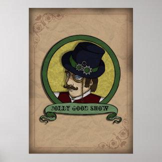 Steampunk Prince, print