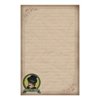 Steampunk Prince, stationery