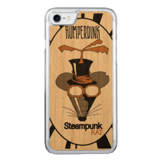 Steampunk Rat Carved iPhone 7 Case