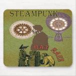Steampunk ~ Rat Race Mousepad