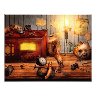 Steampunk - Repairing a friendship Flyer Design
